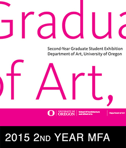 2015 2nd Year MFA