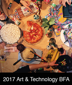 Art & Technology BFA catalog