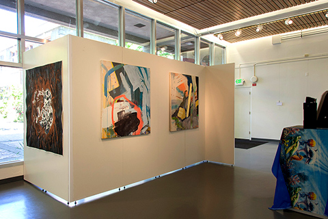 artwork at Continuous Lattice exhibition