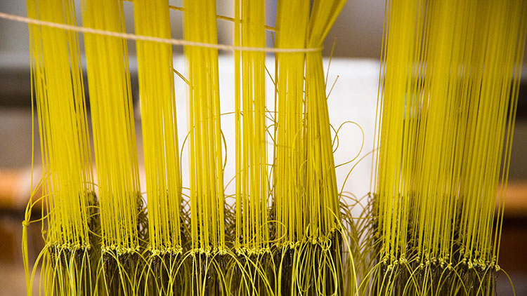 yellow fibers