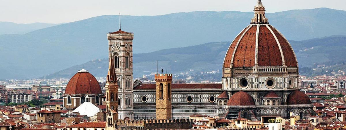 rooftops in Florence, Italy