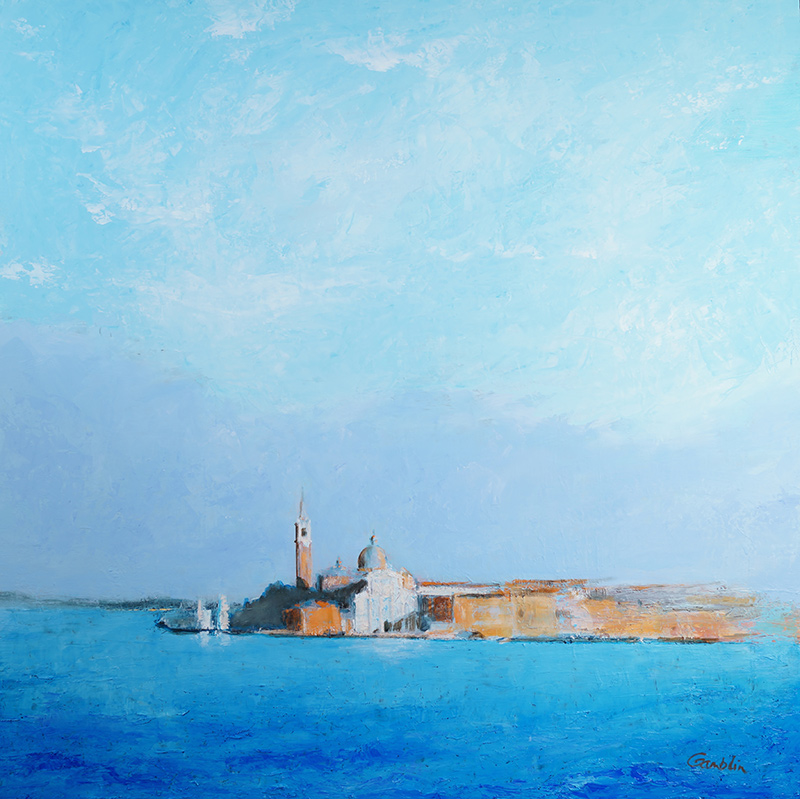 San Giorgio Floating in Blue