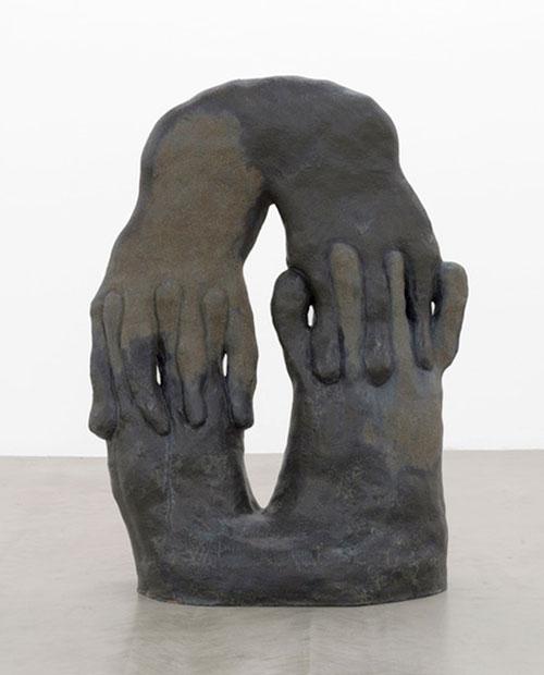Interlocking Arch sculpture by Julia Haft-Candell