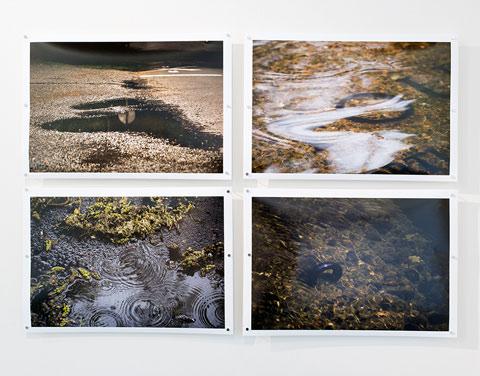 photography by Michaela Huserik on display
