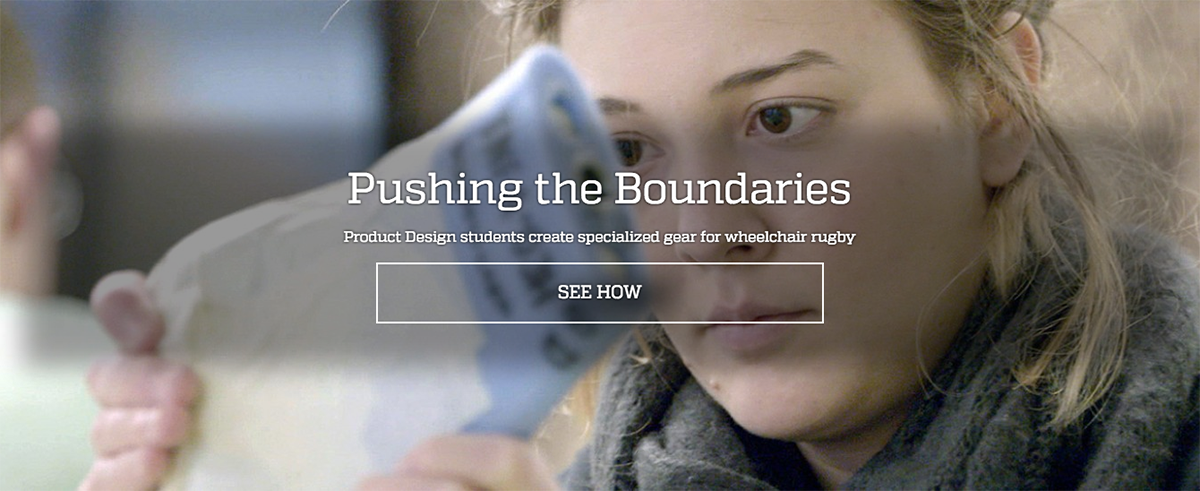 Pushing the Boundaries: Product Design students create specialized gear for wheelchair rugby