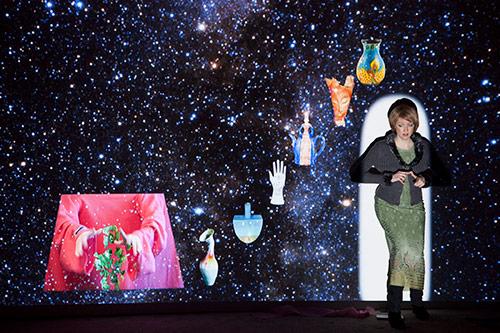 Performance at Fondazione Morra Greco, 2013, Photo credit: Marie Lusa