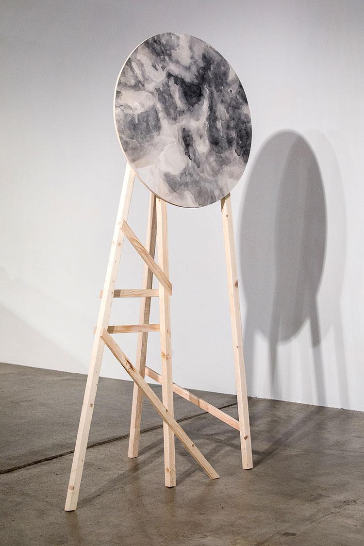 artwork on display
