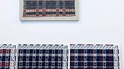Textile art by Jovencio de la Paz
