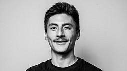 Black and White portrait of Xander Cuizon Tice